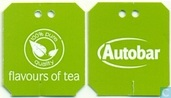 Tea bags and Tea labels - Autobar - groene thee met citroengras