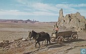 Church Rock Navajo Trail Horse car cowboy
