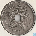 The Belgian Congo 10 centimes 1924