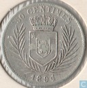 Congo Free State  50 centimes 1894