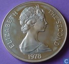 "St Helena 1 crown 1978 (PROOF) ""25th anniversary of coronation"""