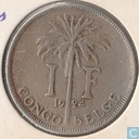 The Belgian Congo 1 franc 1924 (FRA)