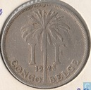 The Belgian Congo 1 franc 1923/2 (FRA)