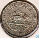 East Africa 50 cents 1937