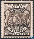 "Queen Victoria with overprint ""SPECIMEN"""