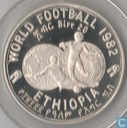 "Ethiopië 20 birr 1982 (PROOF - jaar 1974) ""World Soccer Games 1982"""