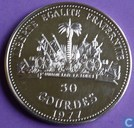 "Haiti 50 Gourde 1977 (PROOF) ""World Soccer Championship Games Argentina 1978"""