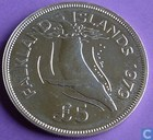 "Falkland Inseln 5 Pound 1979 (PROOF) ""Conservation"""