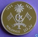 "Malediven 250 rufiyaa 1993 (PROOF - Jahr 1413) ""1994 FIFA World Cup"""
