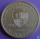 "Andorra 20 diners 1996 (BU) ""Coronation of Charlemagne"""