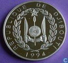 "Djibouti 100 francs 1994 (PROOF) ""1996 Olympic Games - Runner"""
