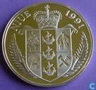 "Niue 5 dollars 1991 (PROOF) ""World Cup in USA in 1994"""