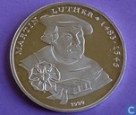 "Togo 1000 francs 1999 (PROOF) ""Martin Luther"""