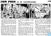 Comic Books - Bumble and Tom Puss - Tom Poes en de vuursalamander