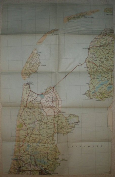 Netherlands Topographic Map.The Netherlands Militaria 104 Topographic Maps Ca 1943 Catawiki