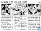Comic Books - Bumble and Tom Puss - Tom Poes en de Viridiaan-dinges
