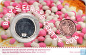Netherlands Baby Coincard 2014 (Girl with Penning)