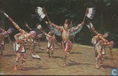 CM-55 USA Cherokee Indian Eagle Dance Unto these Hills tribal ritual