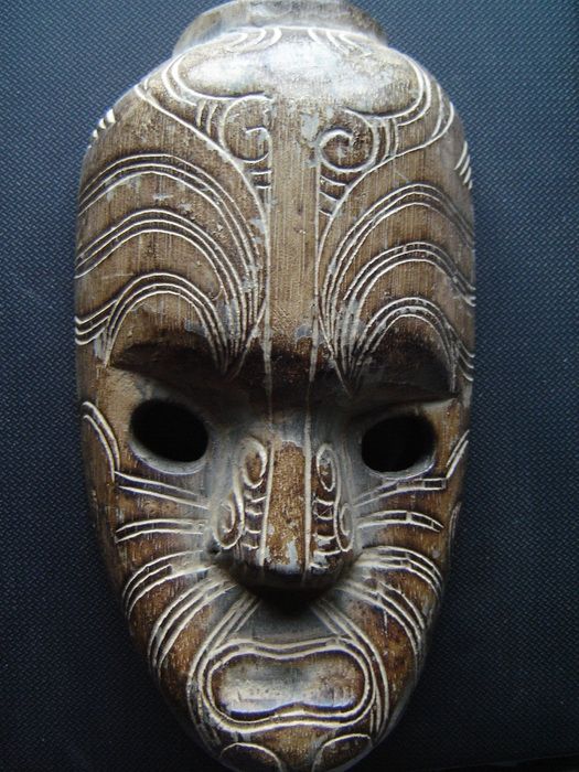 Older MAORI mask - New-Zealand