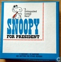 """A distinguished combat hero!"" Snoopy for President"
