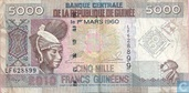 Guinea Francs 5 000 Guinean