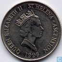 Sint-Helena en Ascension 10 pence 1998
