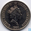Sint-Helena en Ascension 5 pence 1991
