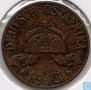 German East Africa 1 heller 1913 (J)
