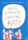 Why comics can't be art!