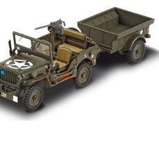 JEEP WILLYS MILITAIRE 1//43