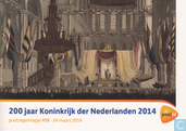200 years Kingdom Netherlands