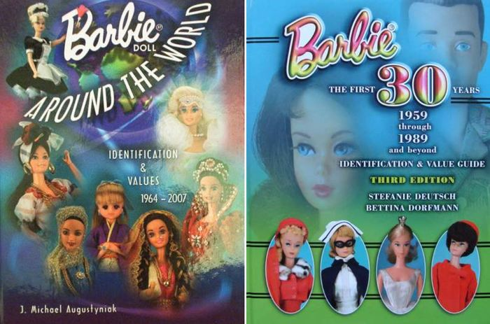 Books - Total 748 pages - Barbie