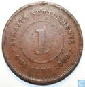 Straits Settlements 1 Cent 1900