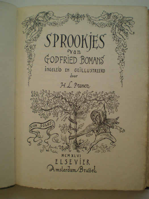 Bibliofiel; Godfried Bomans - Sprookjes - 1946