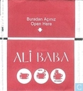 Tea bags and Tea labels - Ali Baba - Karisik Meyve Çayi