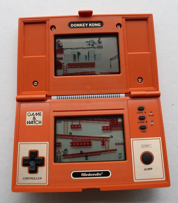 nintendo donkey kong game watch multi screen 1982 catawiki