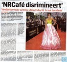 'NRCafé discrimineert'