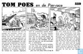 Comic Books - Bumble and Tom Puss - Tom Poes en de Pier-race