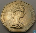 Verenigd Koninkrijk 50 new pence 1974 (PROOF)