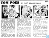 Comic Books - Bumble and Tom Puss - Tom Poes en het slaagsysteem