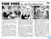 Comic Books - Bumble and Tom Puss - Tom Poes en het Kunsthars-hart