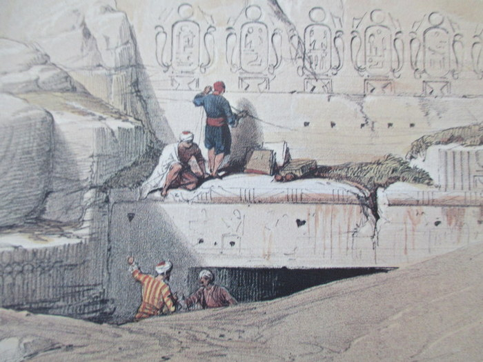 Egyptologie; David Roberts - Sketches in Egypt & Nubia - (1985)
