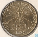 "Vatican 20 lire 1962 ""Second Ecumenical Council"""