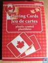 Souvenirs Playing Cards Jeu de cartes platic-coated plastifiees
