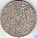 Morocco 10 dirhams 1912 (year 1331)