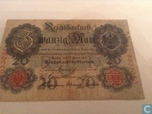 20 Mark Germany 1910