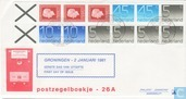 Stamp booklet 26 A