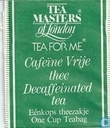Cafeïne Vrije thee  Decafeiinated tea