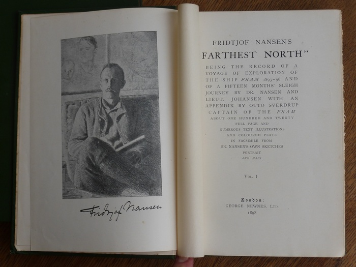 Reizen; Fridtjof Nansen - Farthest North - 1898