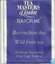 Bosvruchten thee  Wild fruits tea